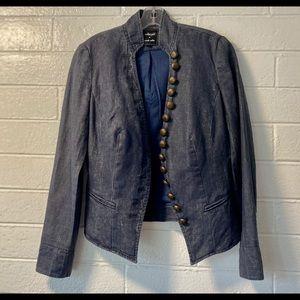 Military/Rock Star jacket by Nicole Miller, sz 10